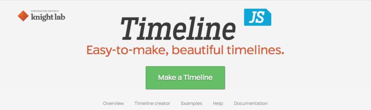 Timeline JS, créer des frises interactives – Un, des clics
